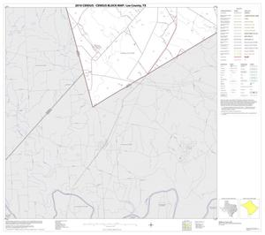 Primary view of object titled '2010 Census County Block Map: Lee County, Block 17'.