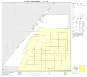 Primary view of object titled '2010 Census County Block Map: Lynn County, Inset D01'.