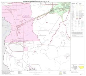 Primary view of object titled '2010 Census County Block Map: Henderson County, Block 19'.