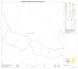 Primary view of object titled '2010 Census County Block Map: Culberson County, Block 34'.