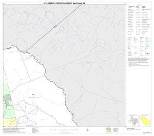 Primary view of object titled '2010 Census County Block Map: Bee County, Block 3'.