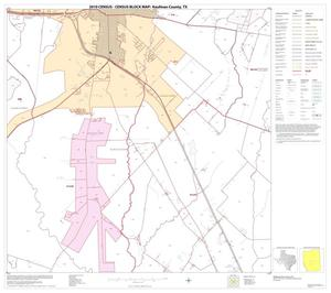 Primary view of object titled '2010 Census County Block Map: Kaufman County, Block 18'.