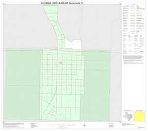 Primary view of object titled '2010 Census County Block Map: Moore County, Inset B01'.