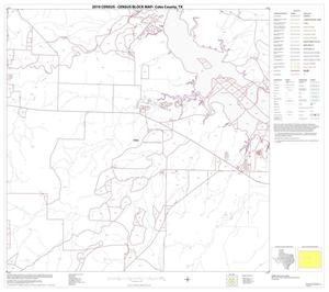 Primary view of object titled '2010 Census County Block Map: Coke County, Block 6'.