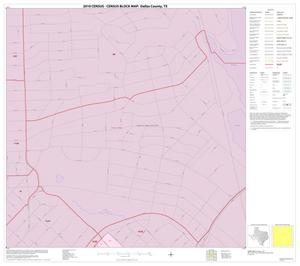 Primary view of object titled '2010 Census County Block Map: Dallas County, Inset K01'.