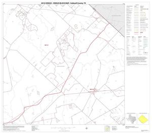 Primary view of object titled '2010 Census County Block Map: Caldwell County, Block 5'.