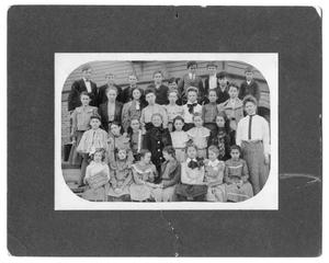 Primary view of object titled '[1905 Orange Higschool group photograph]'.