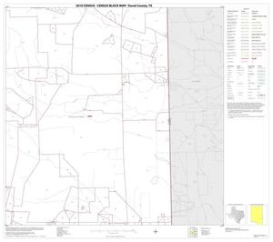Primary view of object titled '2010 Census County Block Map: Duval County, Block 16'.