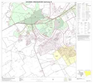 Primary view of object titled '2010 Census County Block Map: Hood County, Block 7'.