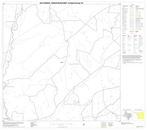 Primary view of object titled '2010 Census County Block Map: Crockett County, Block 22'.
