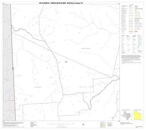 Primary view of object titled '2010 Census County Block Map: Red River County, Block 8'.