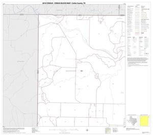 Primary view of object titled '2010 Census County Block Map: Cottle County, Block 1'.