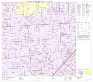 Primary view of object titled '2010 Census County Block Map: Harris County, Block 215'.