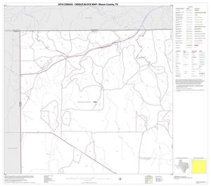 Primary view of object titled '2010 Census County Block Map: Mason County, Block 1'.