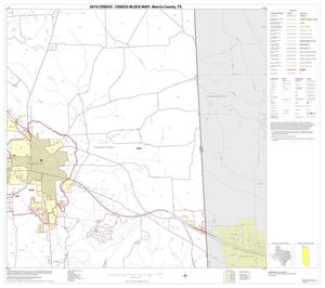 Primary view of object titled '2010 Census County Block Map: Morris County, Block 8'.