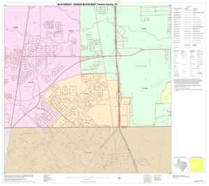 Primary view of object titled '2010 Census County Block Map: Tarrant County, Block 60'.