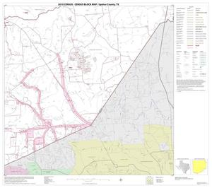 Primary view of object titled '2010 Census County Block Map: Upshur County, Block 11'.