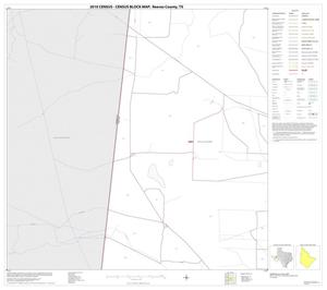 Primary view of object titled '2010 Census County Block Map: Reeves County, Block 10'.