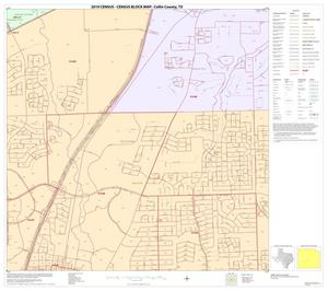 Primary view of object titled '2010 Census County Block Map: Collin County, Block 63'.