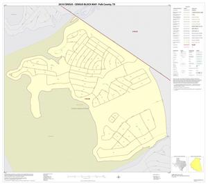 Primary view of object titled '2010 Census County Block Map: Polk County, Inset C01'.