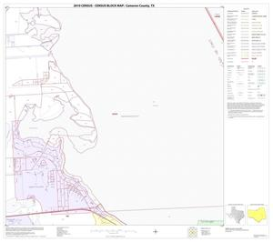 Primary view of object titled '2010 Census County Block Map: Cameron County, Block 38'.
