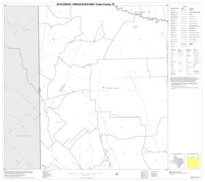 Primary view of object titled '2010 Census County Block Map: Cooke County, Block 18'.