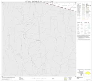 Primary view of object titled '2010 Census County Block Map: Jeff Davis County, Block 24'.