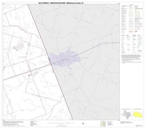 Primary view of object titled '2010 Census County Block Map: Williamson County, Block 31'.