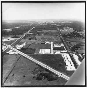 Primary view of object titled '[Aerial Photo of Highway 87]'.