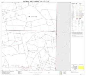 Primary view of object titled '2010 Census County Block Map: Andrews County, Block 10'.
