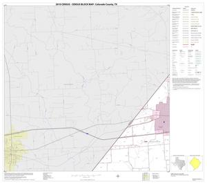 Primary view of object titled '2010 Census County Block Map: Colorado County, Block 7'.