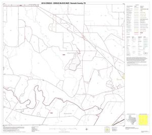 Primary view of object titled '2010 Census County Block Map: Runnels County, Block 10'.