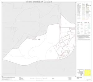Primary view of object titled '2010 Census County Block Map: Garza County, Inset C01'.