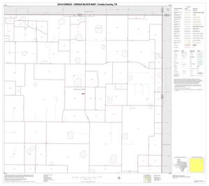 Primary view of object titled '2010 Census County Block Map: Crosby County, Block 4'.