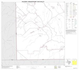 Primary view of object titled '2010 Census County Block Map: Cooke County, Block 23'.