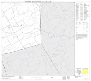 Primary view of object titled '2010 Census County Block Map: Johnson County, Block 15'.