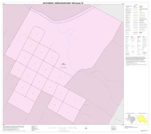 Primary view of object titled '2010 Census County Block Map: Hill County, Inset A01'.