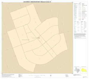Primary view of object titled '2010 Census County Block Map: Williamson County, Inset L01'.