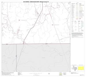 Primary view of object titled '2010 Census County Block Map: Gillespie County, Block 22'.