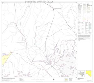 Primary view of object titled '2010 Census County Block Map: Val Verde County, Block 70'.