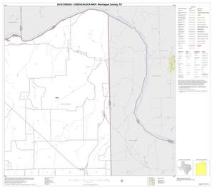 Primary view of object titled '2010 Census County Block Map: Montague County, Block 6'.