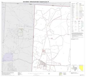 Primary view of object titled '2010 Census County Block Map: Hudspeth County, Block 1'.