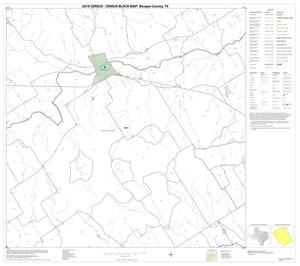 Primary view of object titled '2010 Census County Block Map: Bosque County, Block 11'.