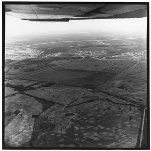 Primary view of object titled '[Aerial View of Chemical Row]'.