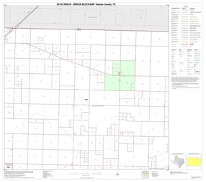 Primary view of object titled '2010 Census County Block Map: Gaines County, Block 4'.