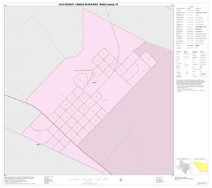 Primary view of object titled '2010 Census County Block Map: Webb County, Inset H01'.
