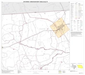 Primary view of object titled '2010 Census County Block Map: Shelby County, Block 2'.
