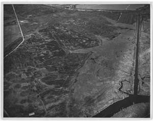 Primary view of object titled '[Aerial View of Marsh]'.