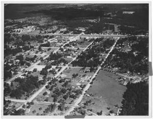 Primary view of object titled '[Aerial View of Vidor, Texas]'.