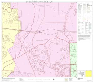 Primary view of object titled '2010 Census County Block Map: Dallas County, Block 56'.